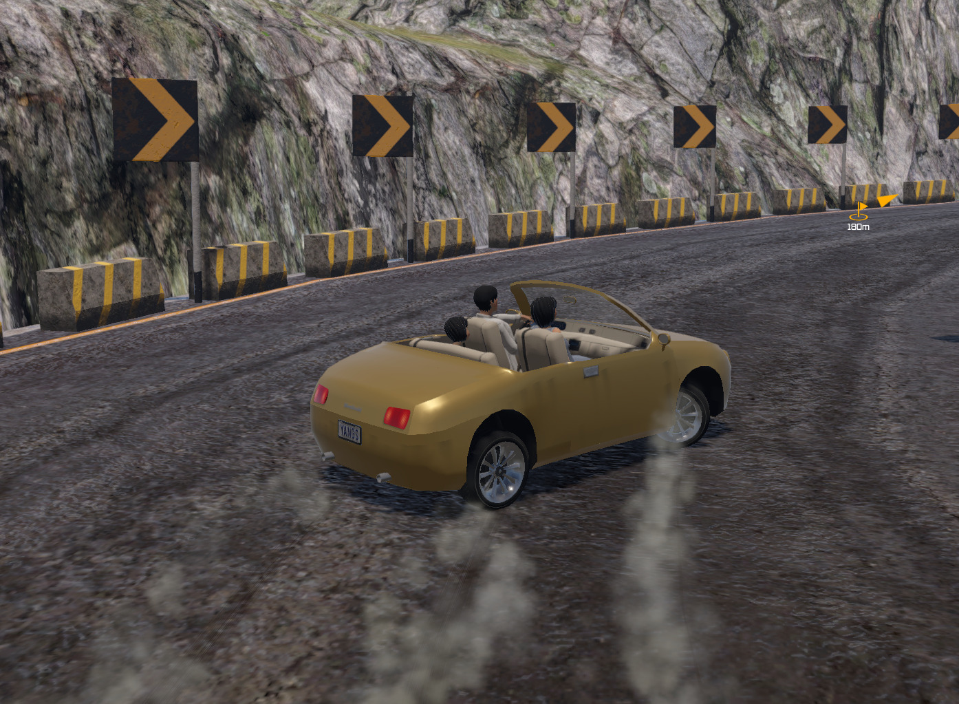 Mountain Pass 1 & 2 can be fully completed at full acceleration.  Can you do it?