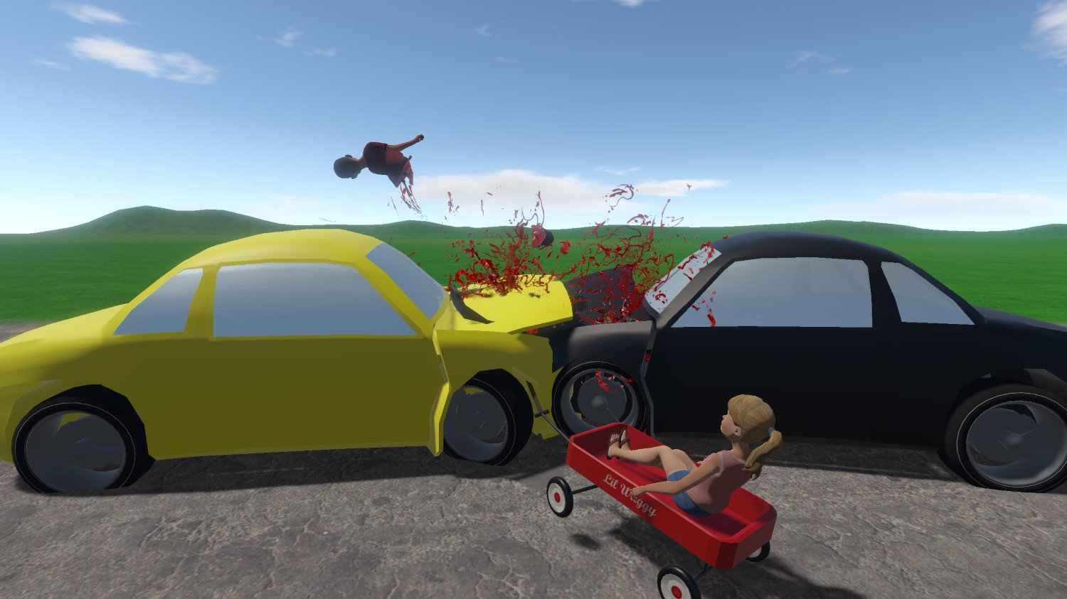 New characters Jack & Jill + AI Vehicles = 1 crazy combination!