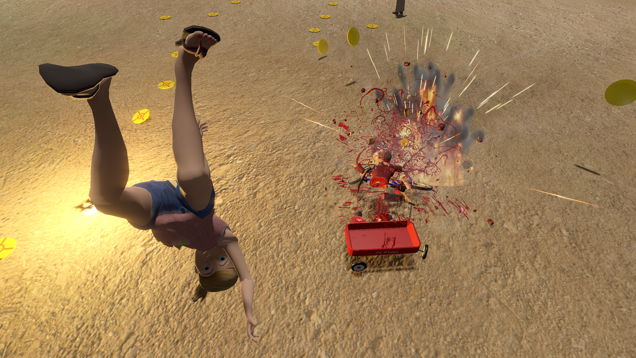 Jack's mom always said to never play with explosives
