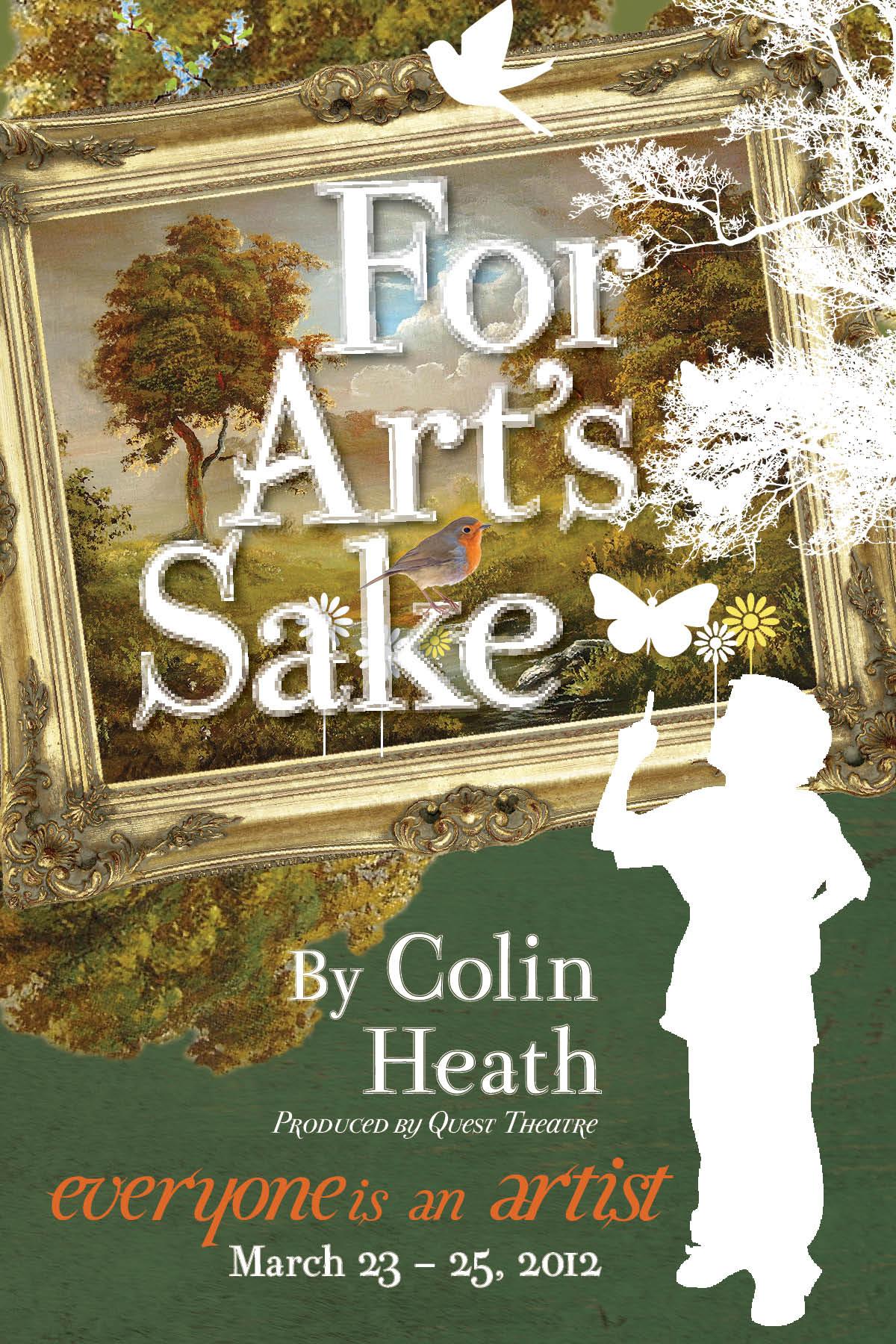 FOR ARTS SAKE