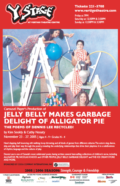JELLY BELLY MAKES GARBAGE DELIGHT OF ALLIGATOR PIE