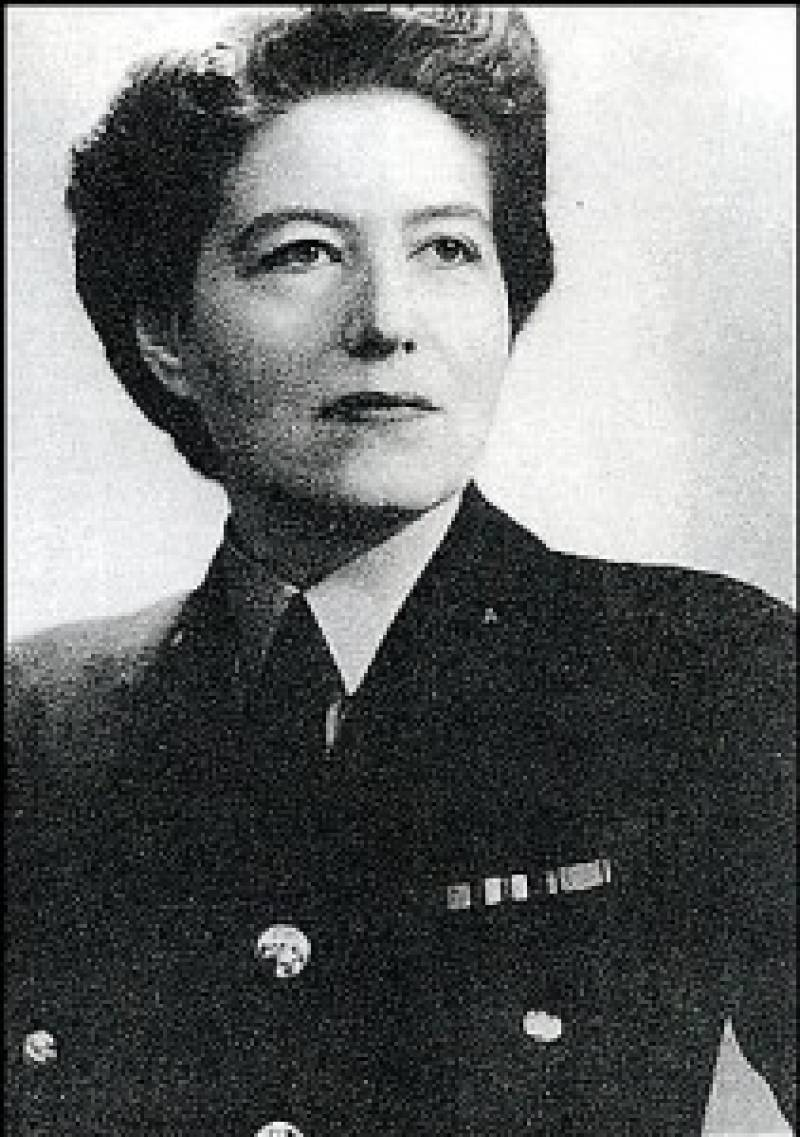 Photo of Vera Atkins, Spy mistress.