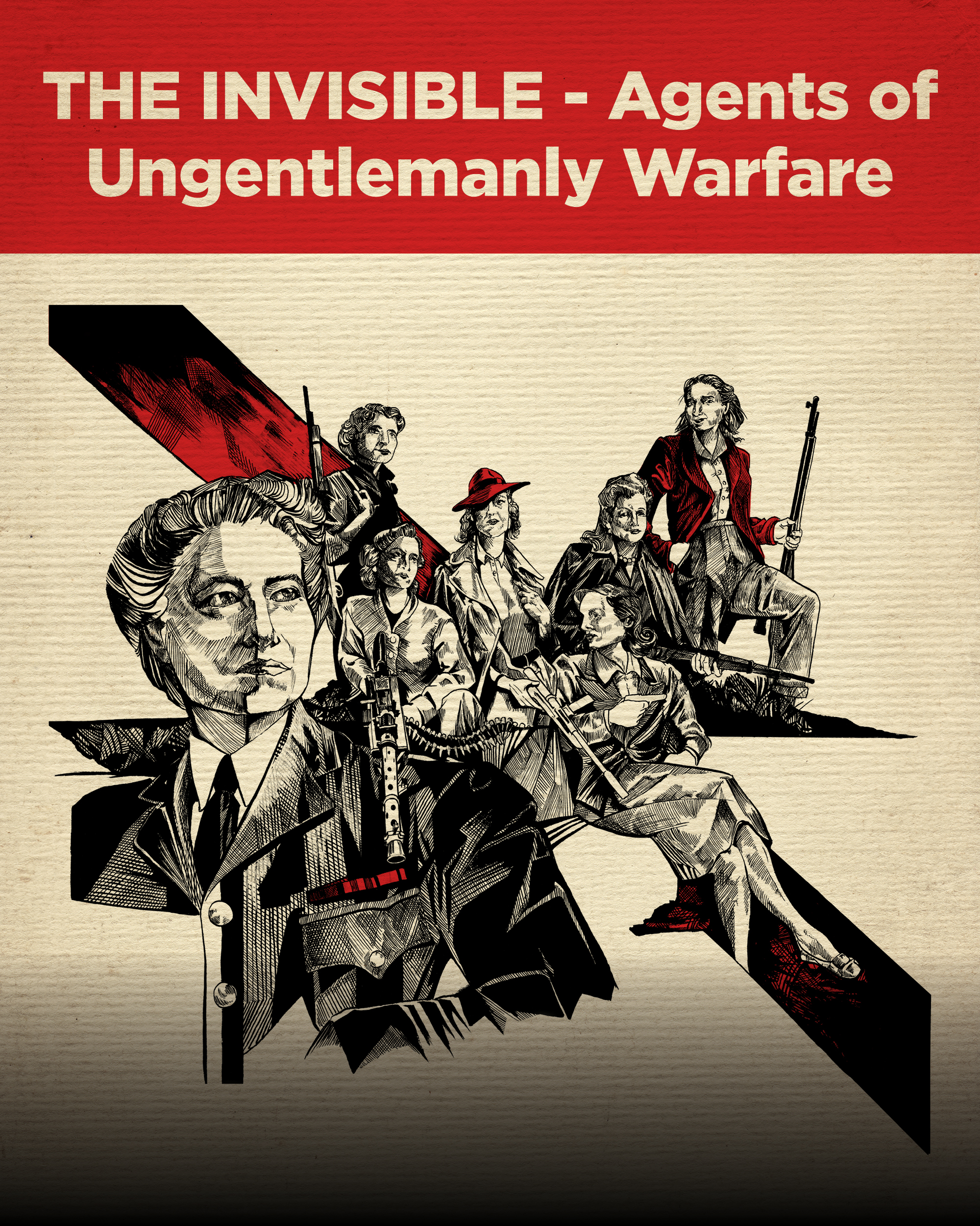 THE INVISIBLE - Agents of Ungentlemanly Warfare