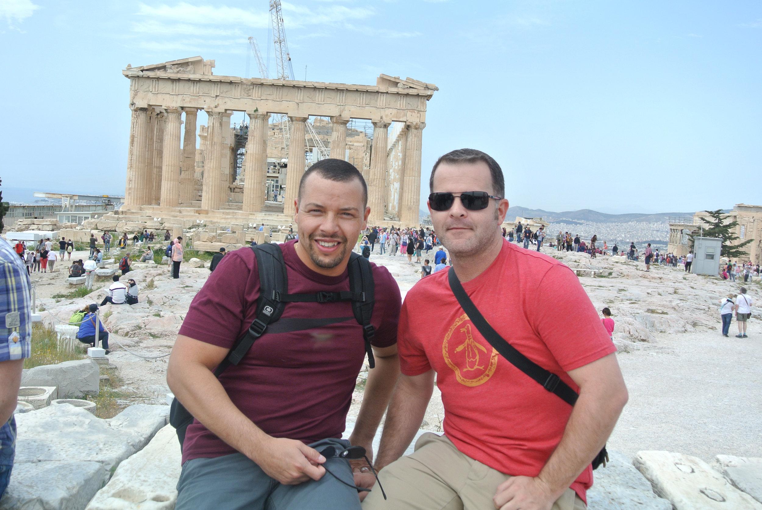Exploring the Acropolis in Greece