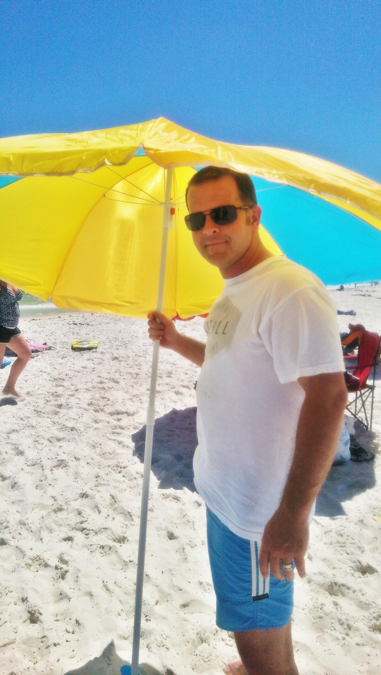 Keith at the beach