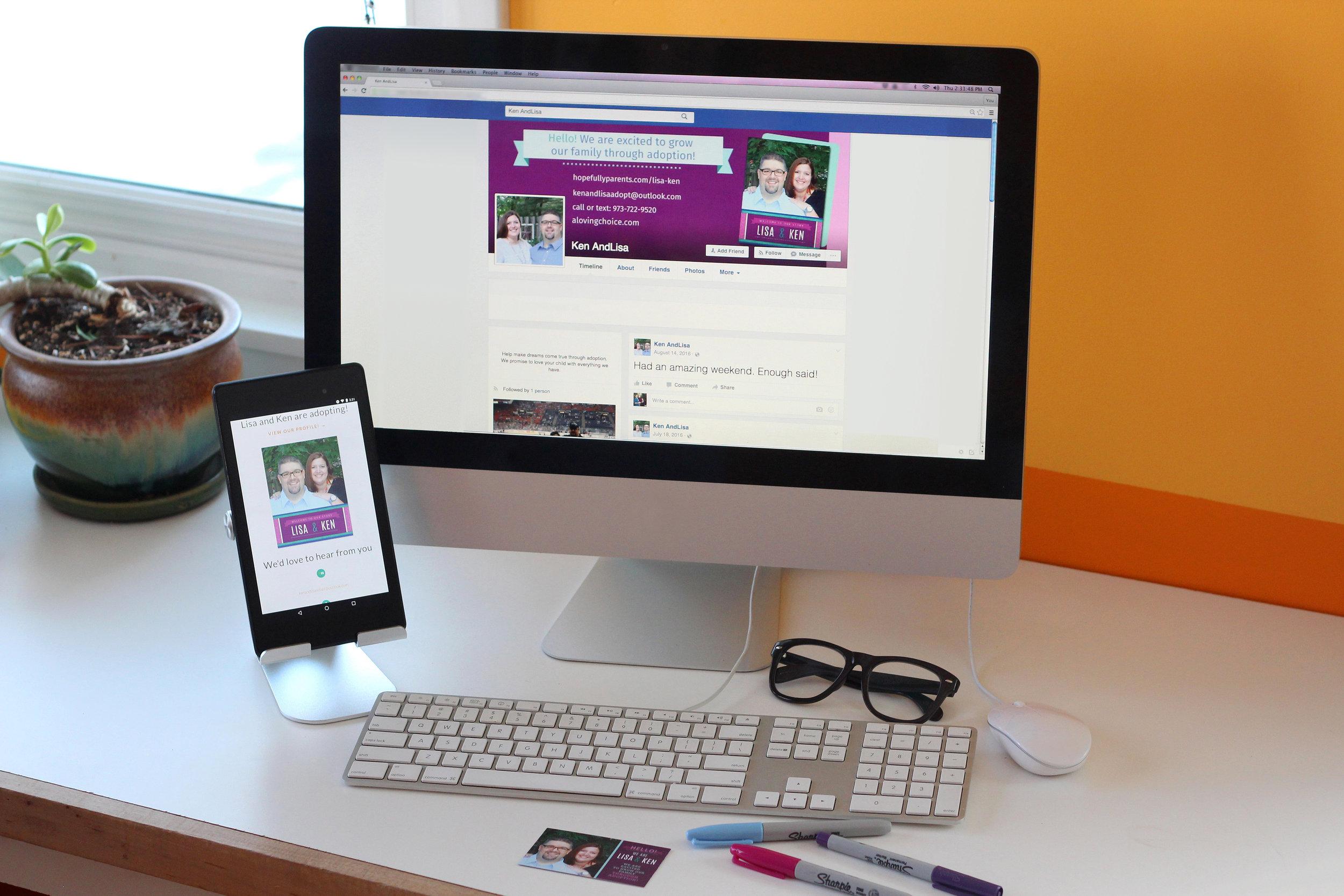 private online profile hosting Hopefully Parents Adoption Outreach
