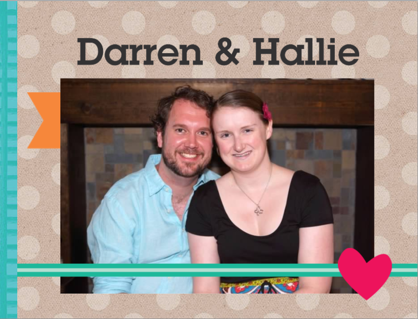 Darren and Hailie are Adopting