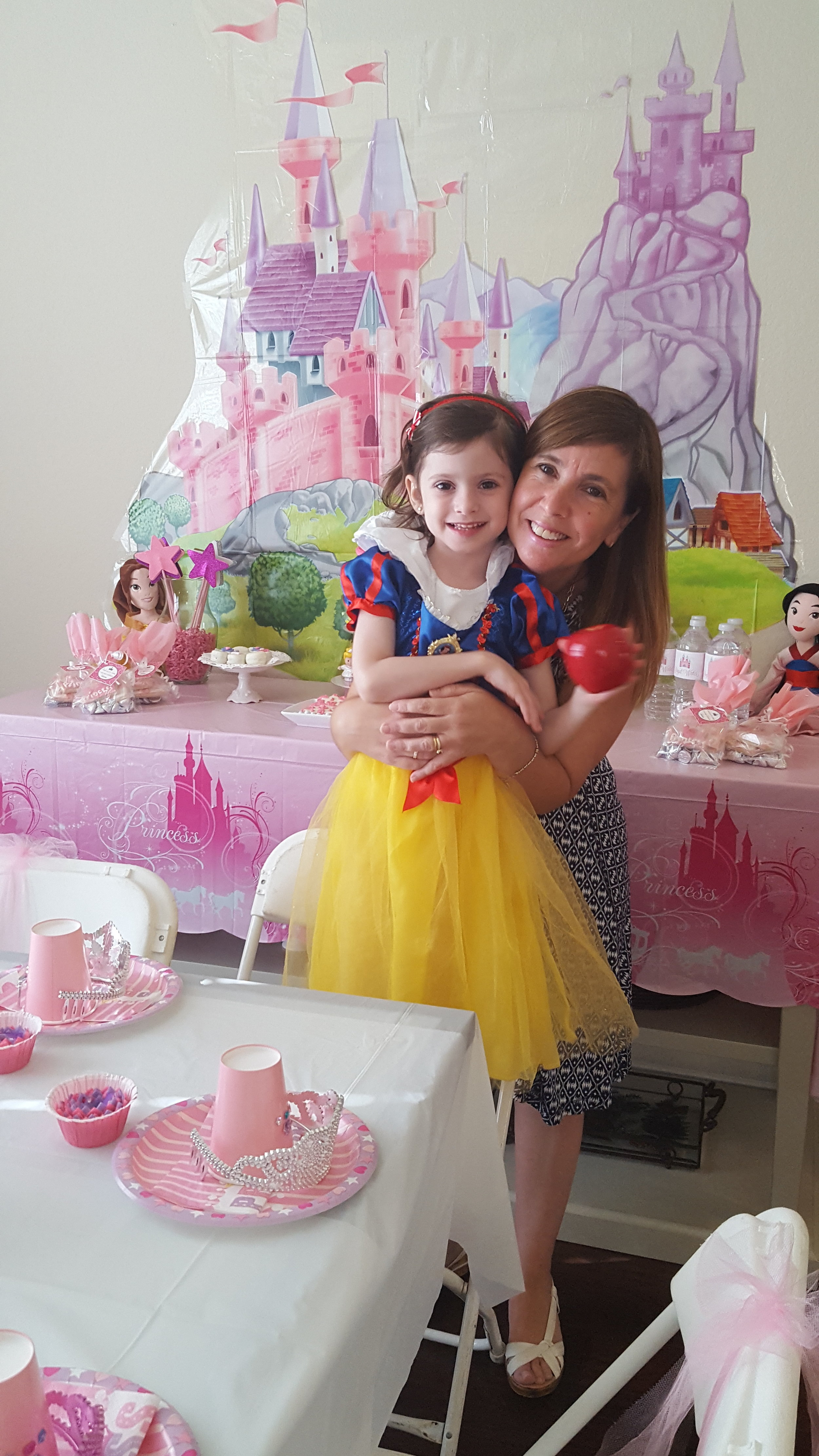 Princess party for our little princess