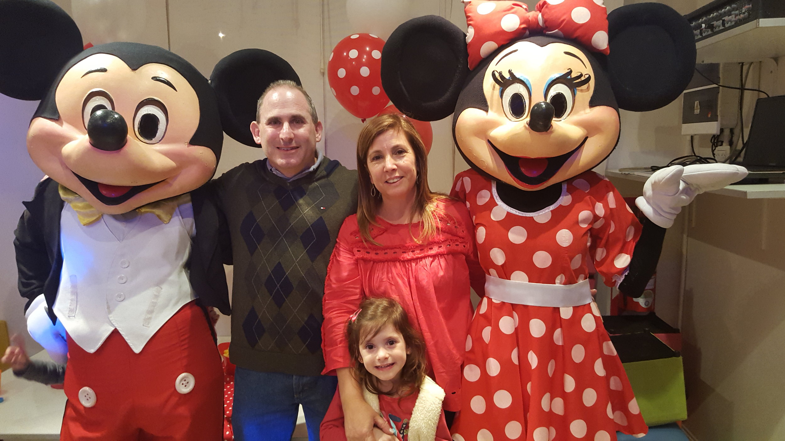 We loved meeting Mickey and Minnie!