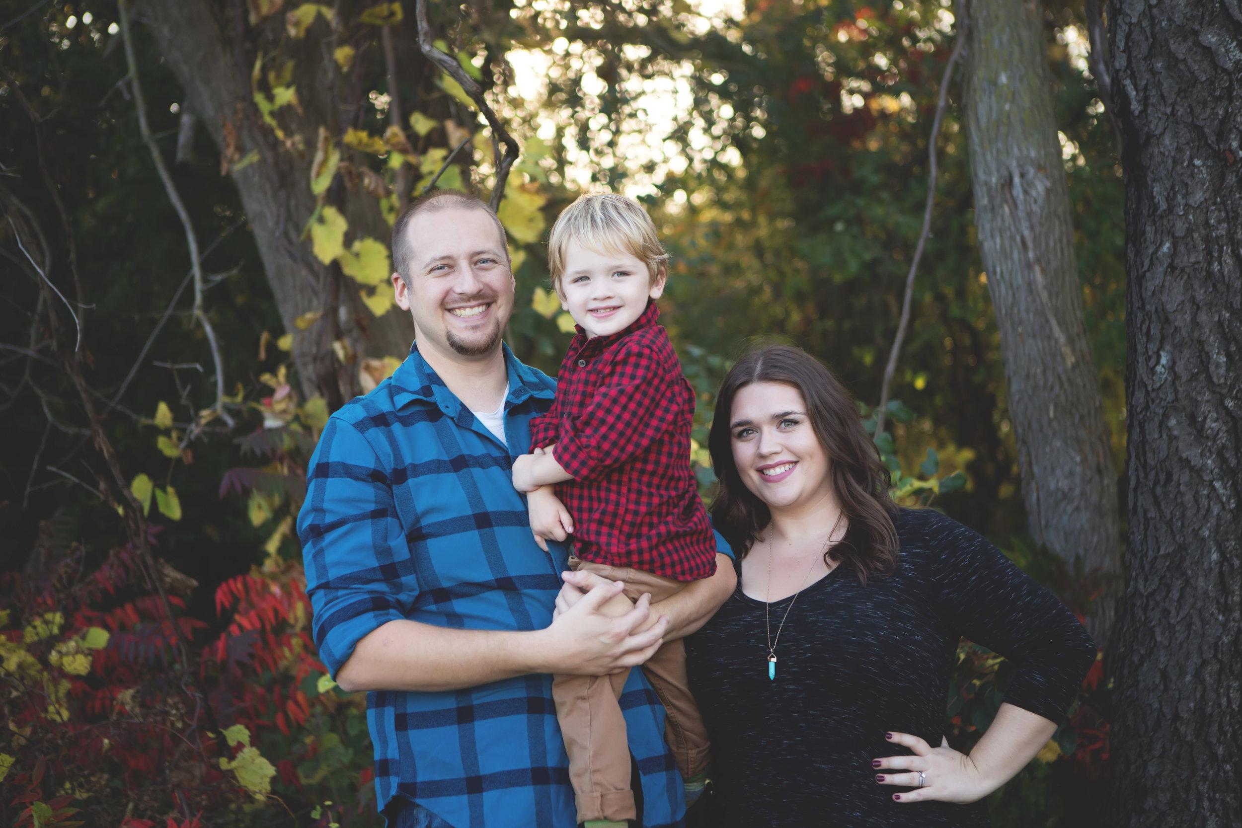 We do annual family photos