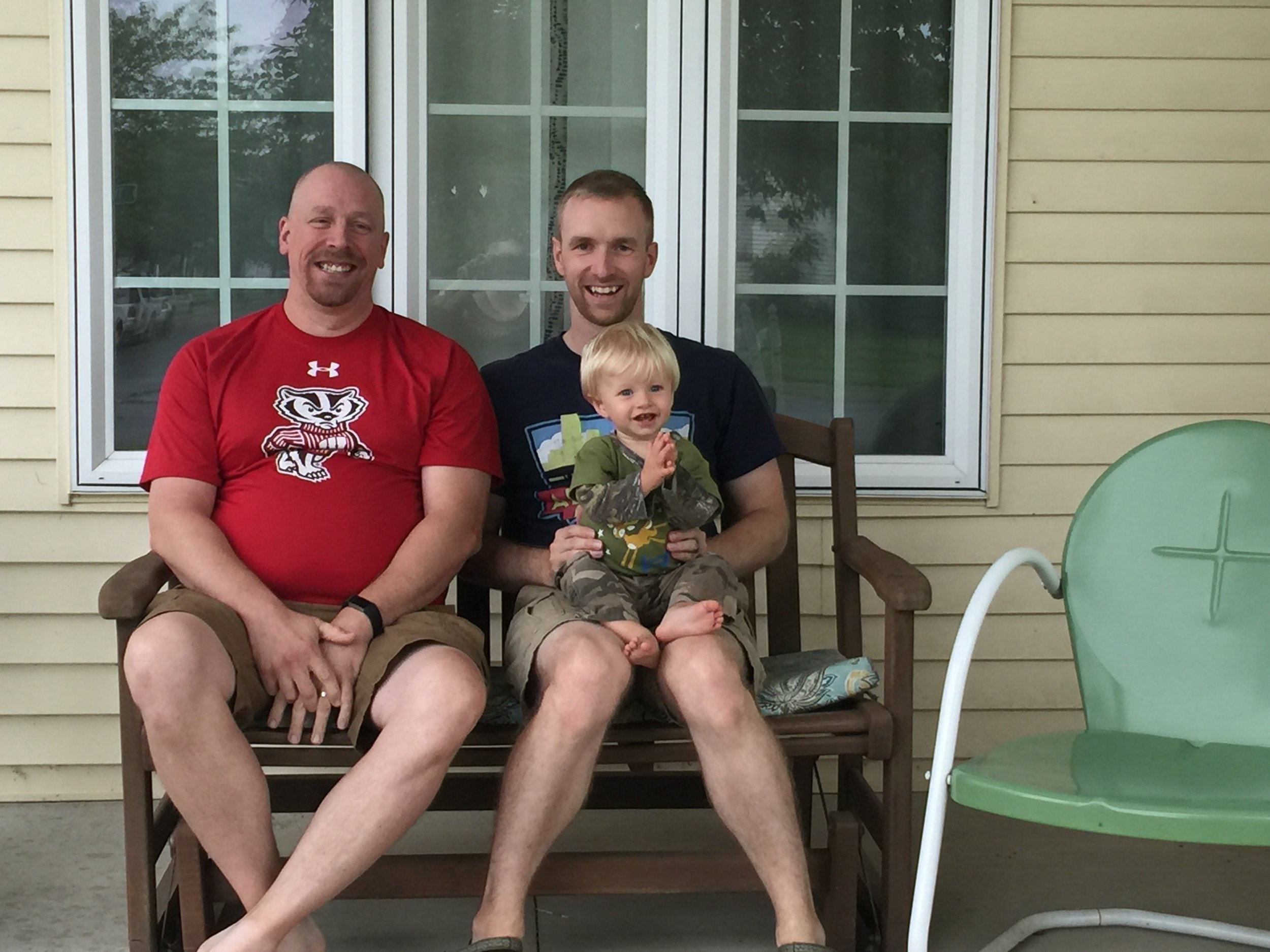 Hanging out on the front porch