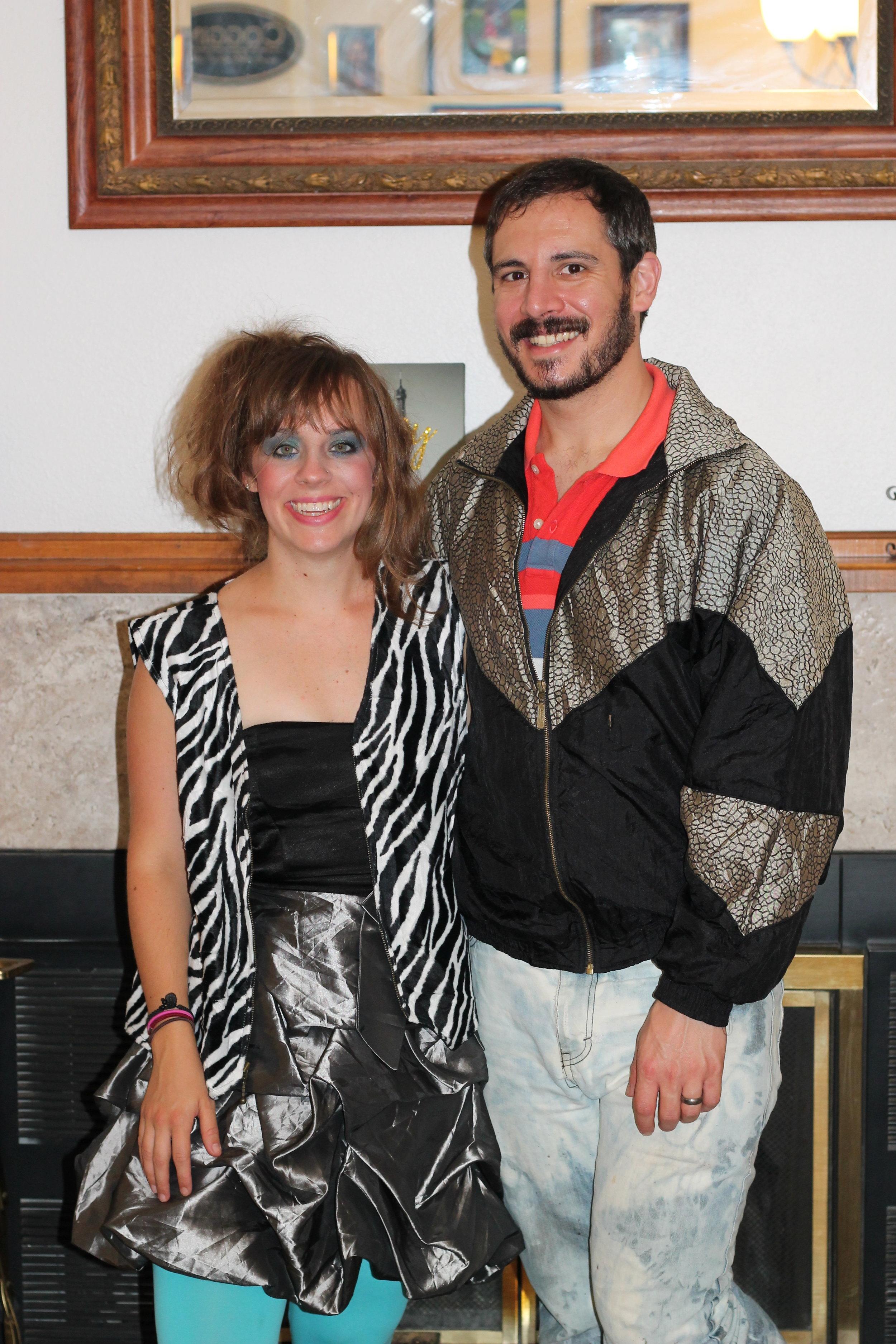 80's couple costume!