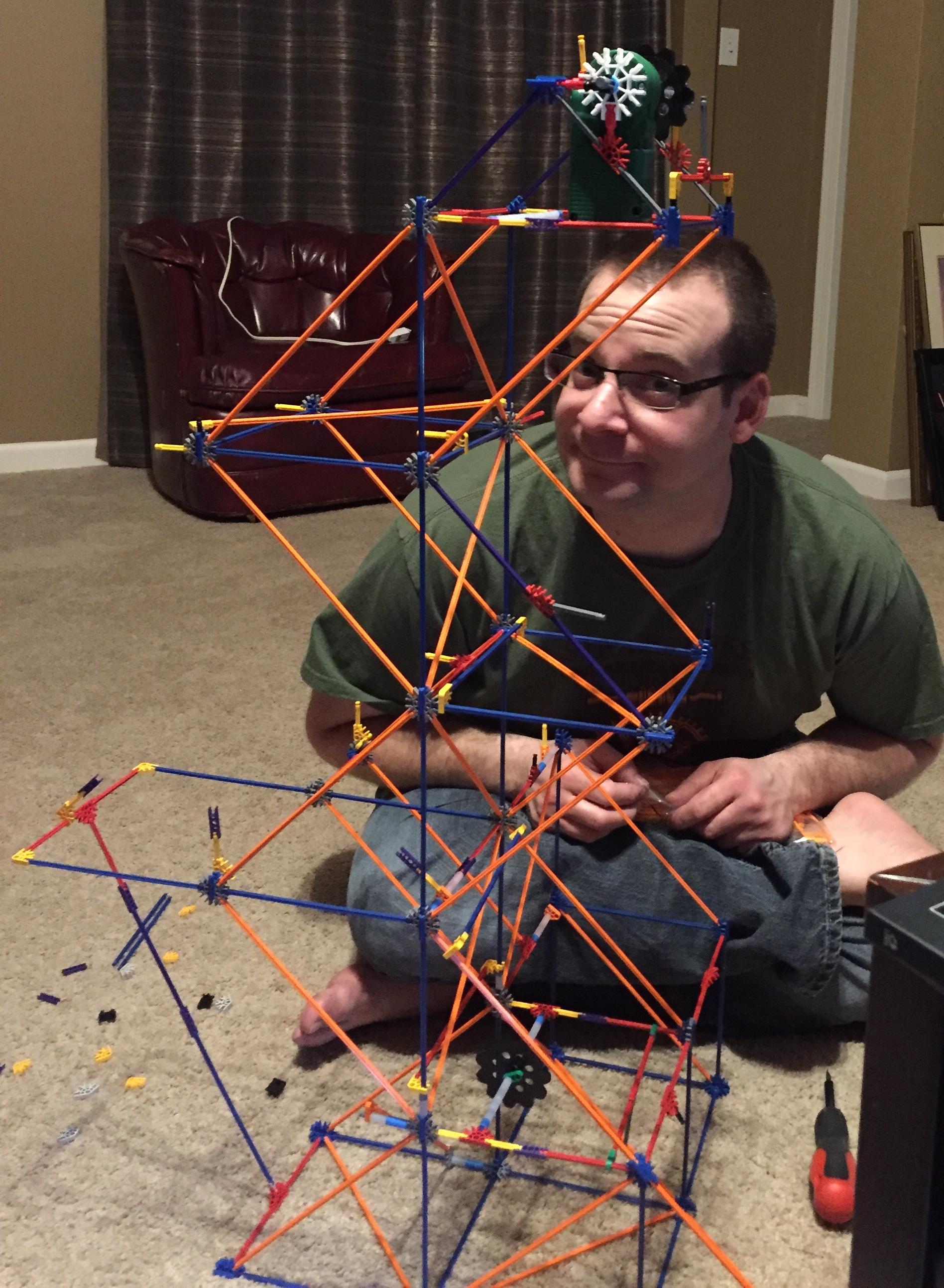 Steve playing with kinnex.JPG