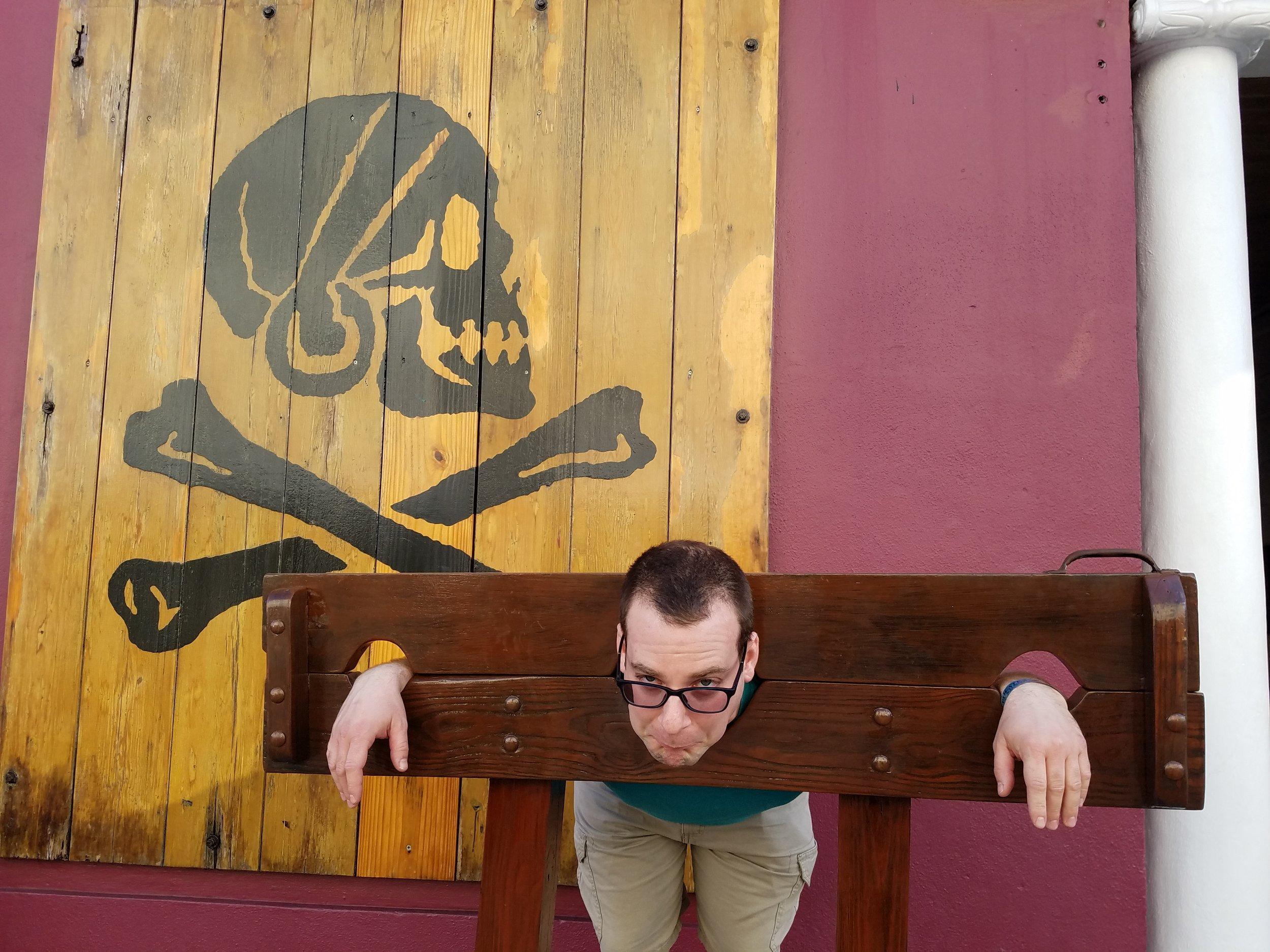 Steve at Pirates museum Bahamas.jpg