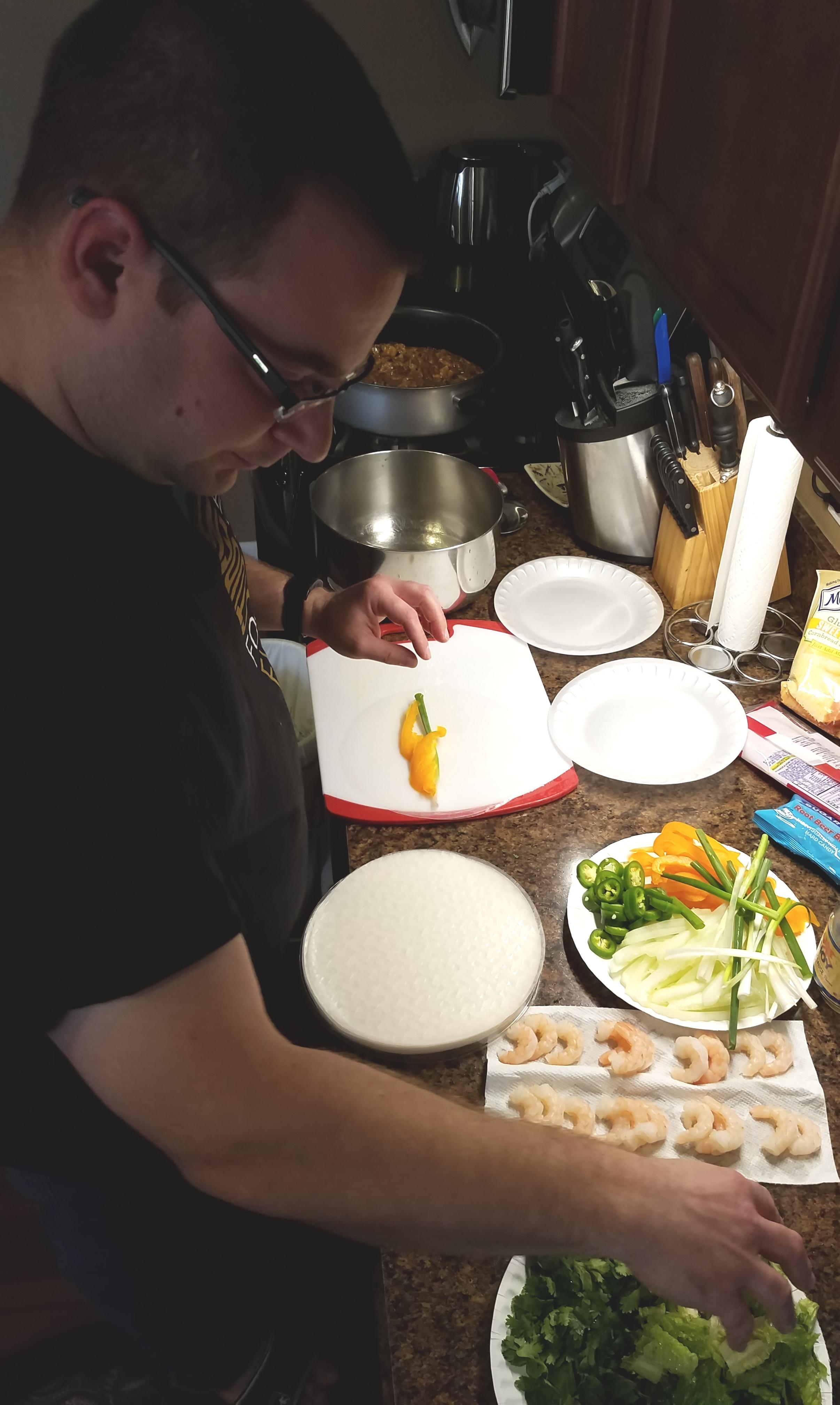 Steve making spring rolls.jpg