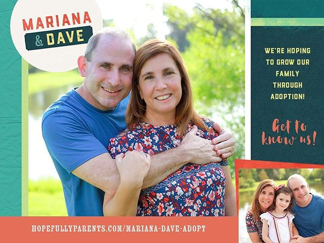 Mariana and Dave are an amazing couple from California who can't want to grow their family from three to four! They would love to connect with an expectant parent considering adoption. You can learn more about them here: https://www.hopefullyparents.com/mariana-dave-adopt • • • #hopefullyparents #adopted #adoptionrocks #adoptionislove #adoptionoutreach #theessentialguidetoadoptionoutreach