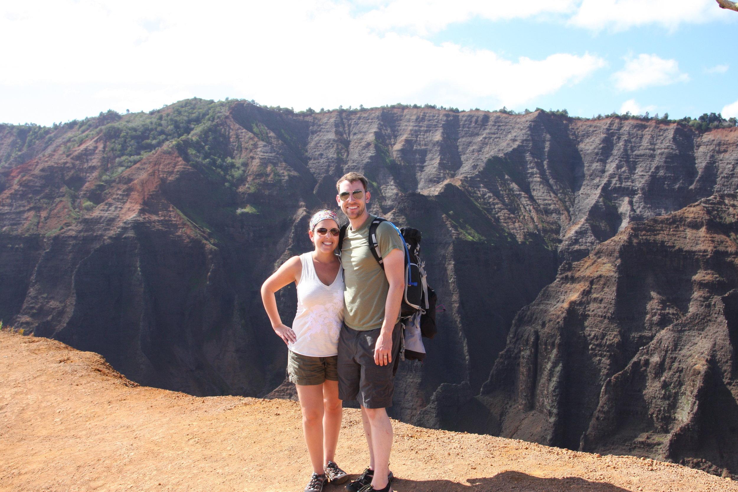 Hiking in Hawaii. We find the trails everywhere we go
