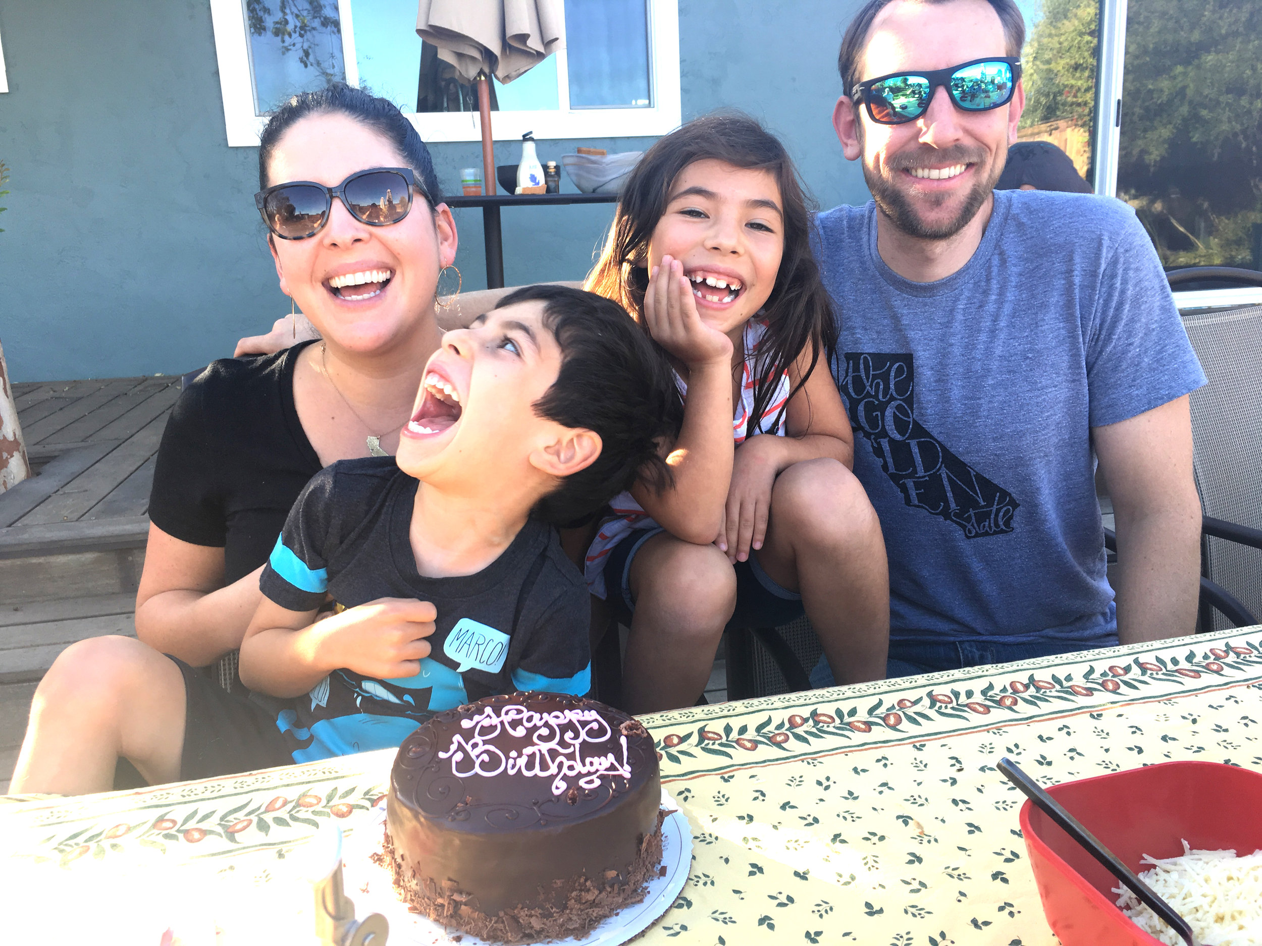 We love to celebrate birthdays with our niece and nephew