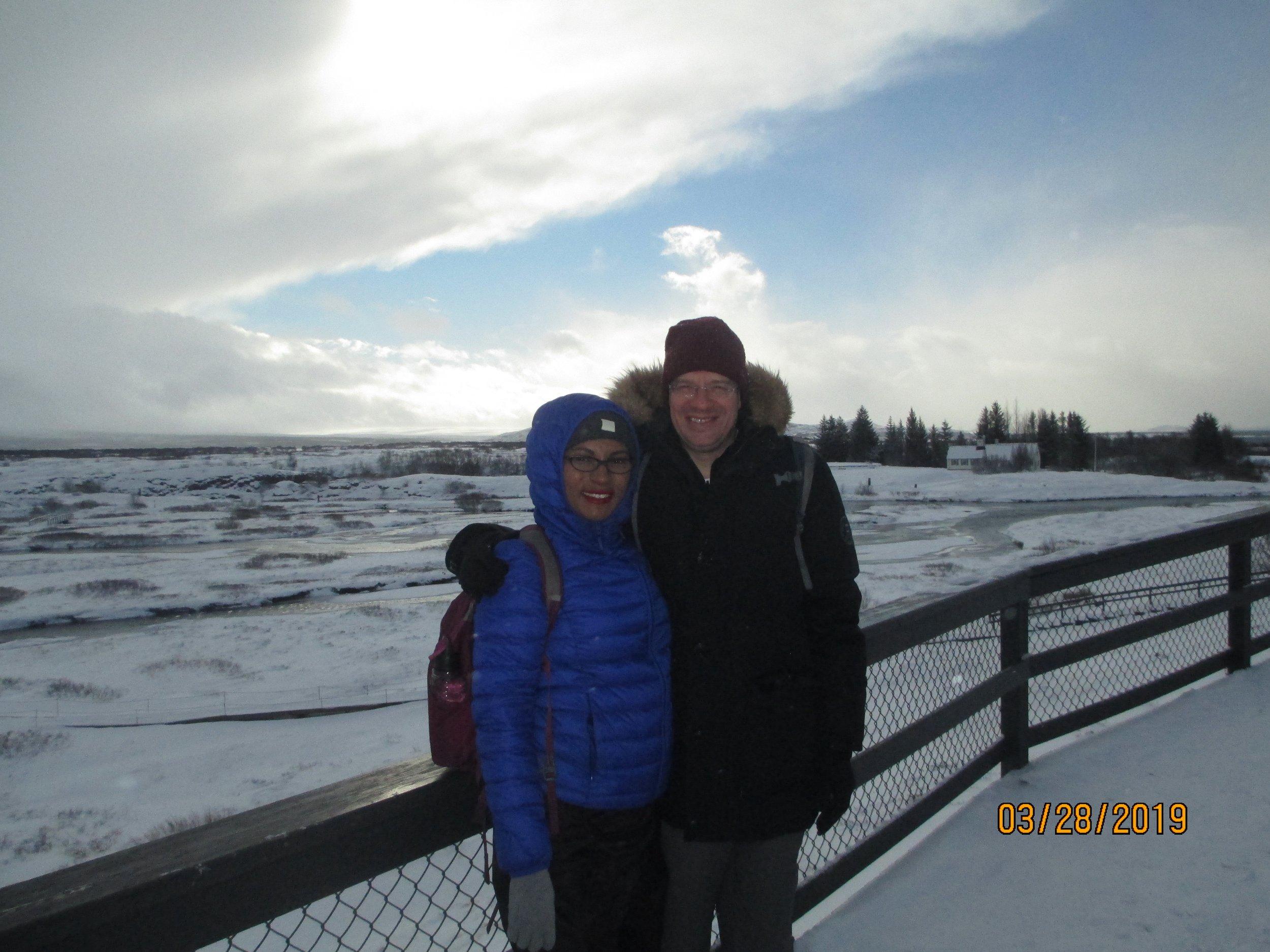 Exploring Iceland, a winter wonderland