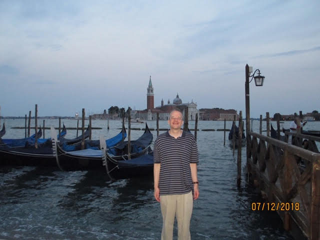 We walked all over Venice during our honeymoon