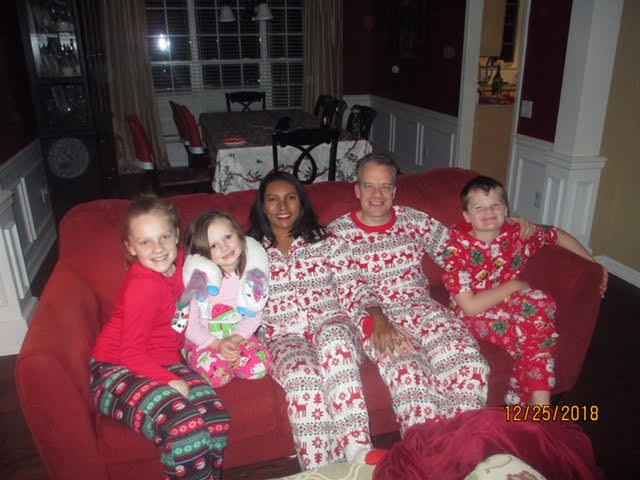 Christmas Eve with our nieces and nephew was a blast