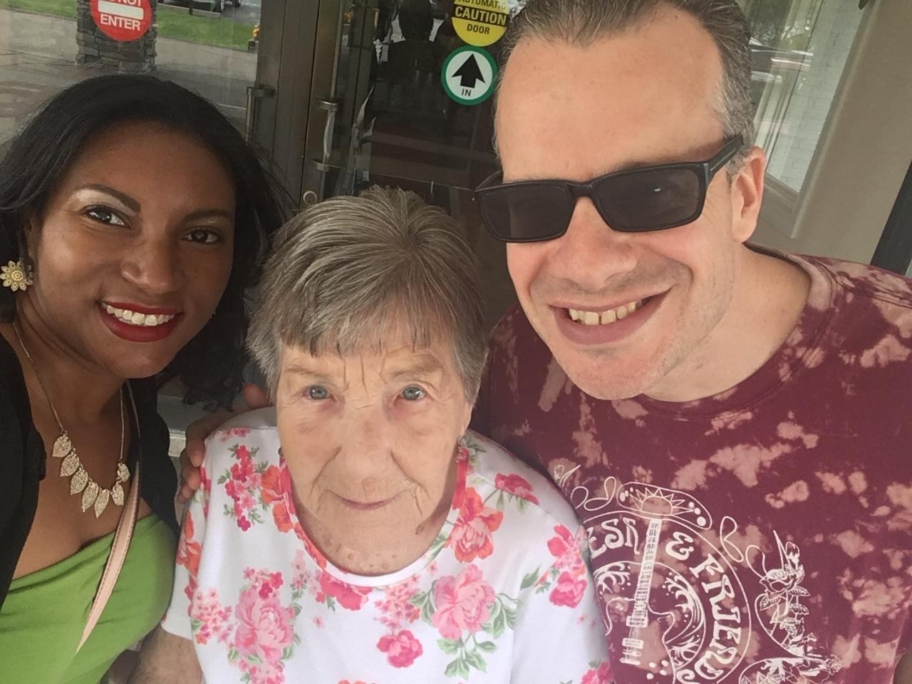 Grandma Betty had a huge bash for her 90th birthday, she had a blast