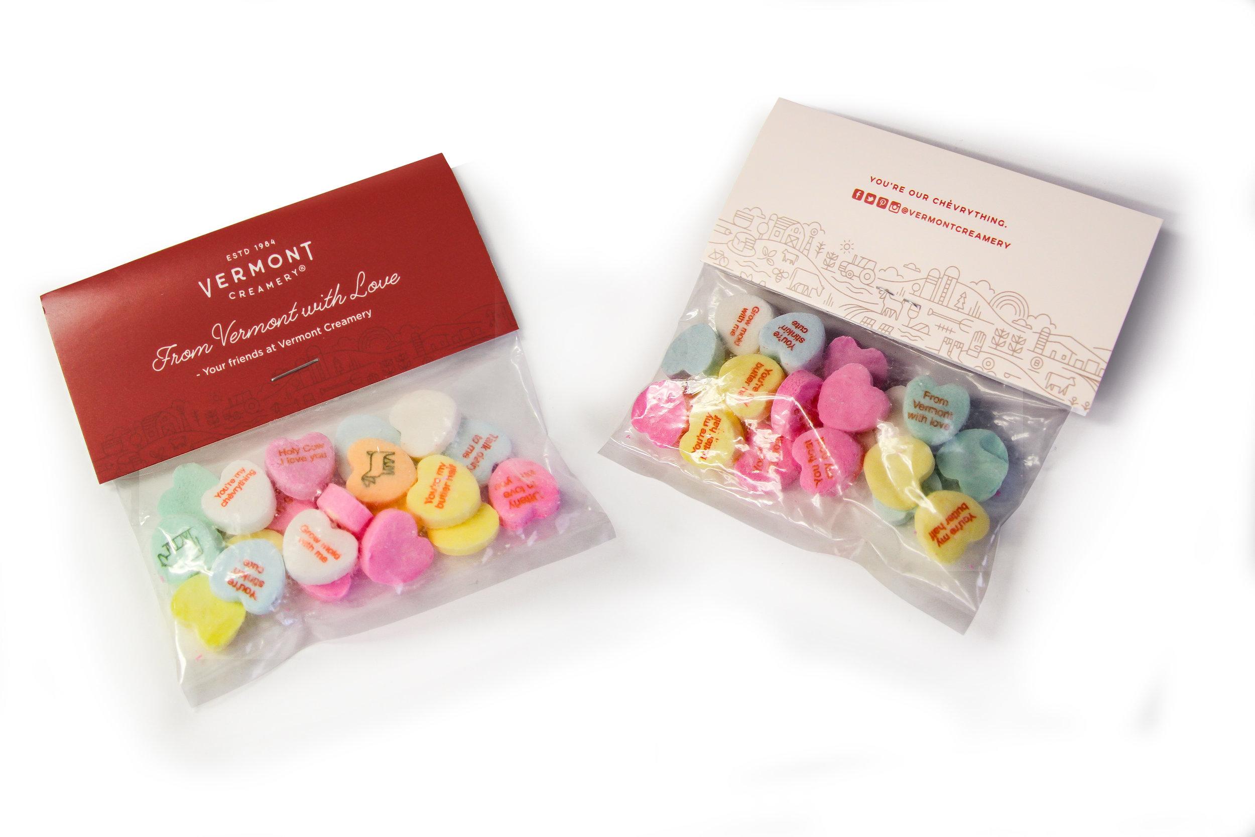 Vermont Creamery Valentine's Day Candies