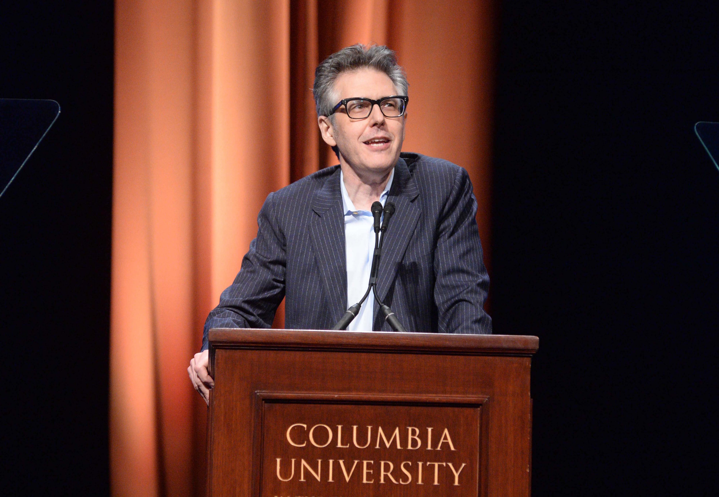 Ira Glass, distinguished honoree and past duPont-Columbia Award winner, speaking at the 2017 duPont-Columbia Awards.
