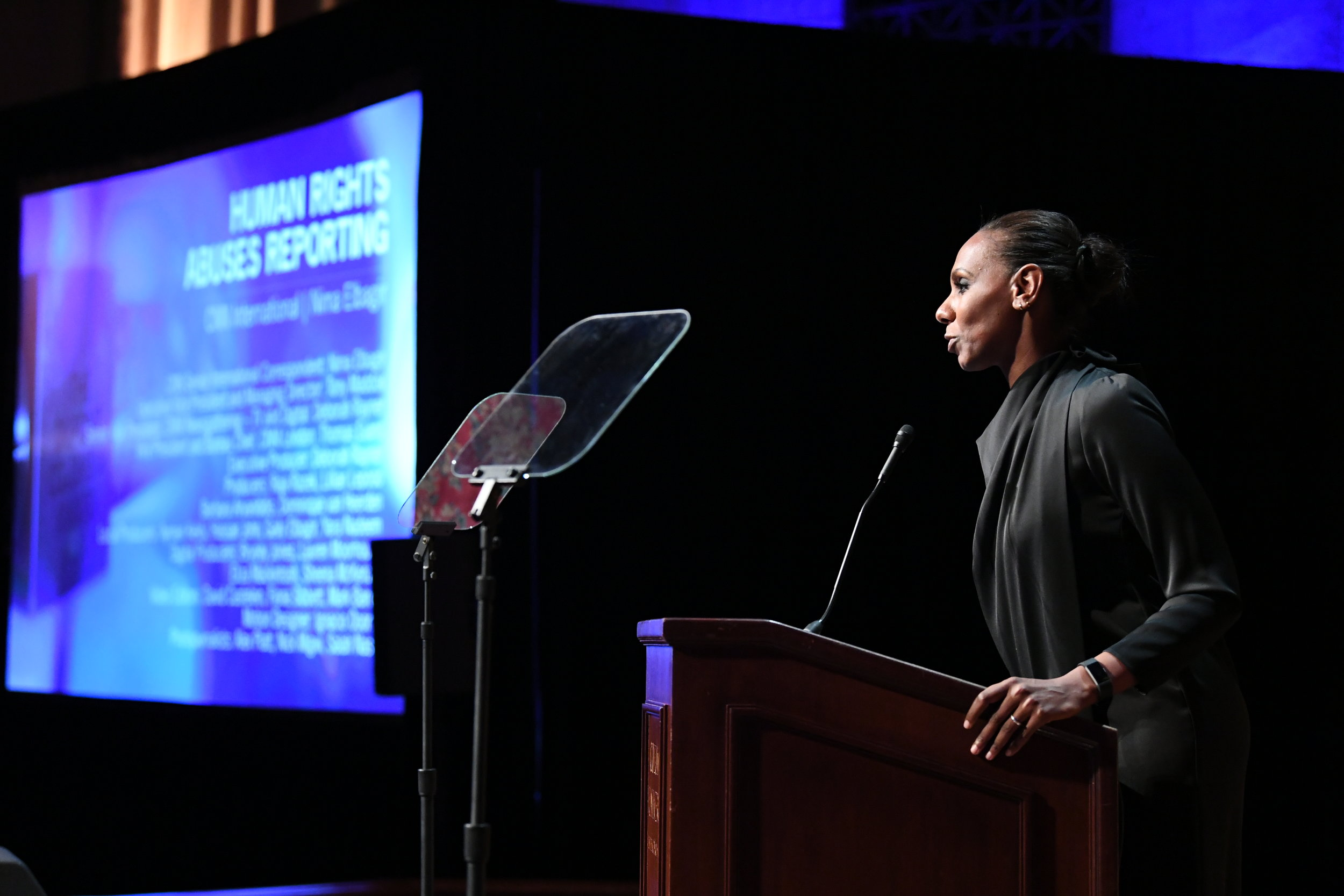 Nima Elbagir's acceptance speech at the 2019 duPont Award Ceremony, Columbia University.