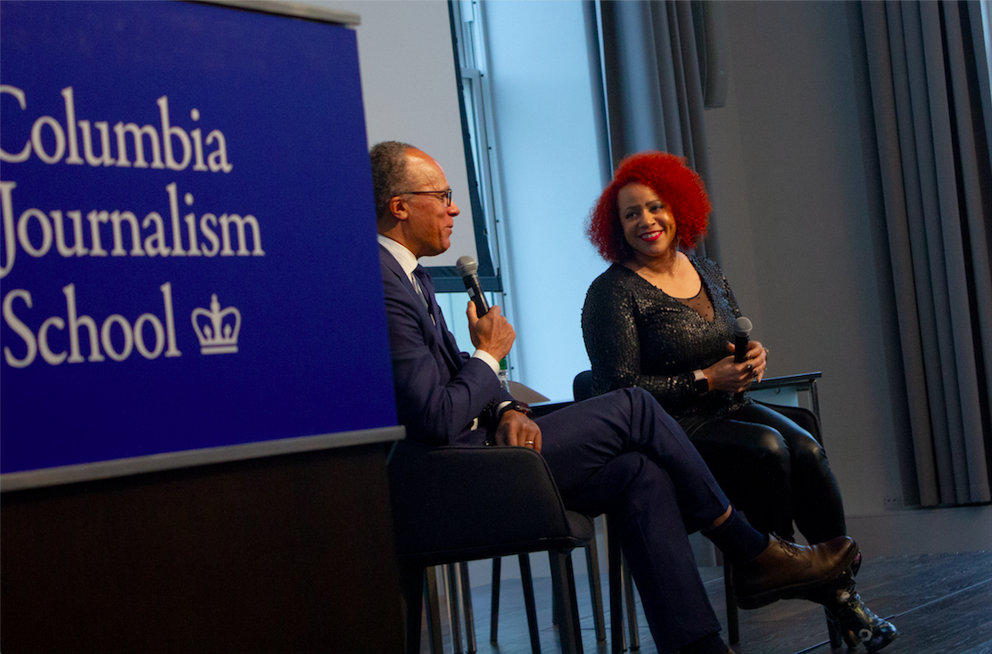 NYT Magazine writer and creator of The 1619 project, Nikole Hannah-Jones, talks with NBC News anchor Lester Holt about the work that won her a 2018 John Chancellor Award for Excellence in Reporting.