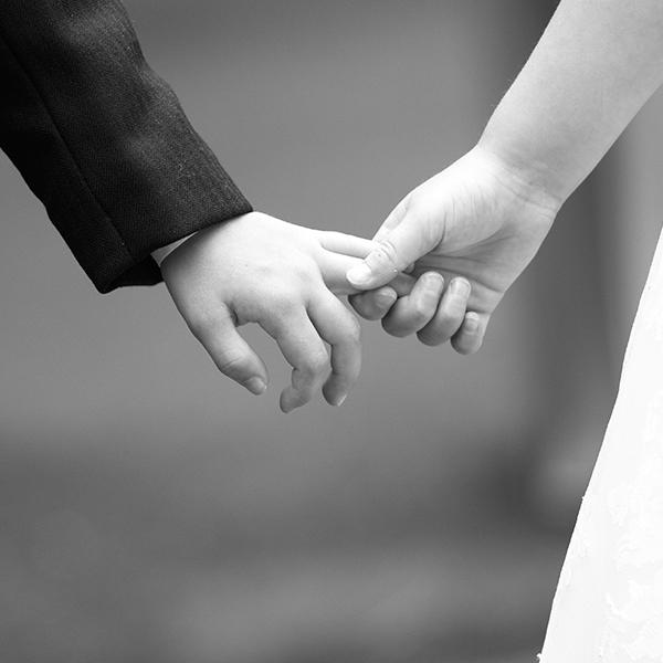 Claire and Bert, Wedding