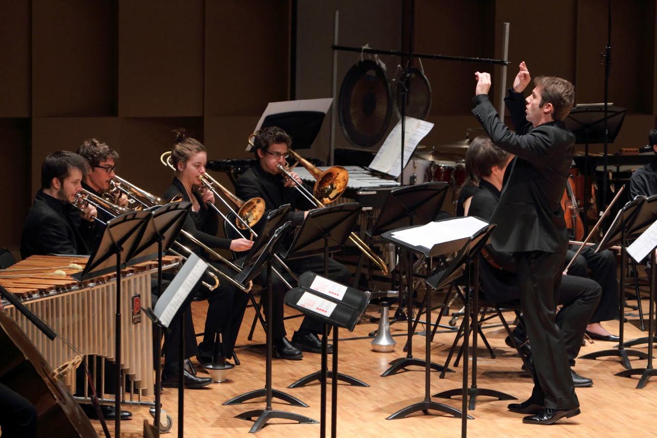 Pollack Hall, Montreal| McGill Contemporary Music Ensemble  Boulez, Domaines   November 2010