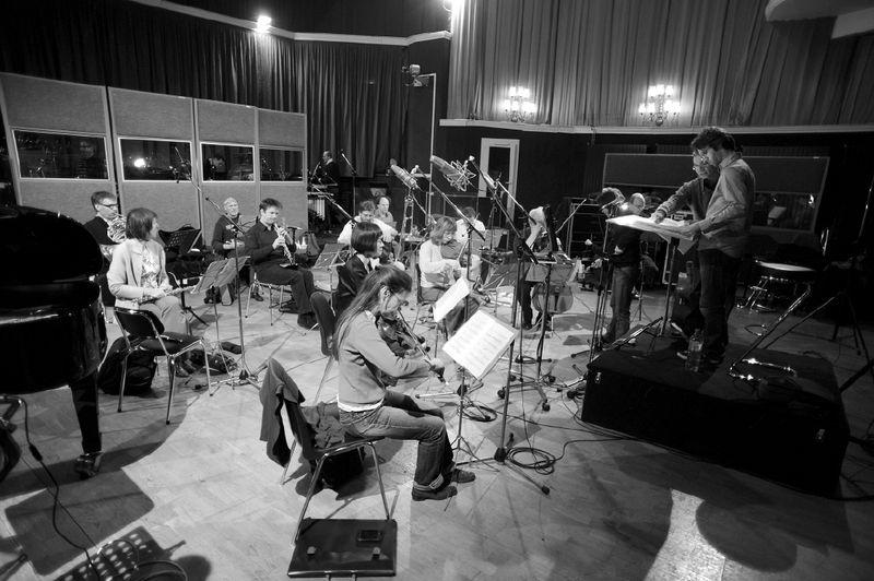 Suresnes, France | Ensemble intercontemporain  Studio recording for the movie  Équinoxe  (music by Hèctor Parra)  © Jean Radel