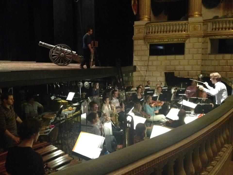 Grand Théâtre de Bordeaux, France | Orchestre de l'Opéra de l'Opéra de Bordeaux  Avril 2014