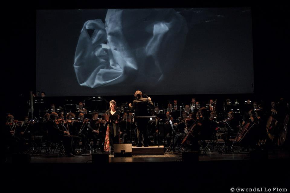 Opéra de Rennes, France | Orchestre symphonique de Bretagne  Valérie Gabail, soprano  © Dan Ramaën -December 2012