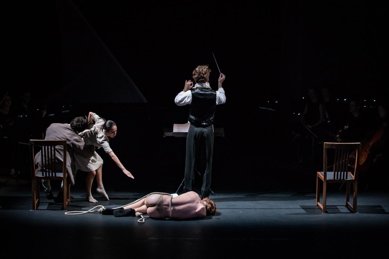 Kampnagel, Hamburg | Ensemble Resonanz  Vivier, Bouchara   © Silvano Ballone - November 2015