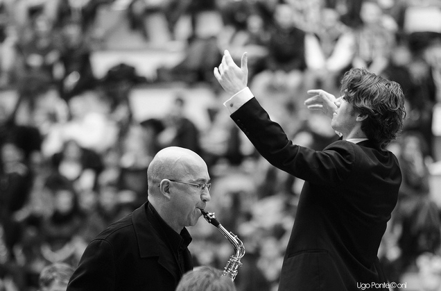 Orchestre national de Lille  Milhaud, Scaramouche (Daniel Gremelle, soloist)  © Ugo Ponte -April 2013