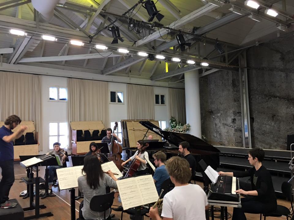 Salzburg, Austria | ICE Ensemble (NYC) & L'Itinéraire  Trapani, Anyplace else   June 2016
