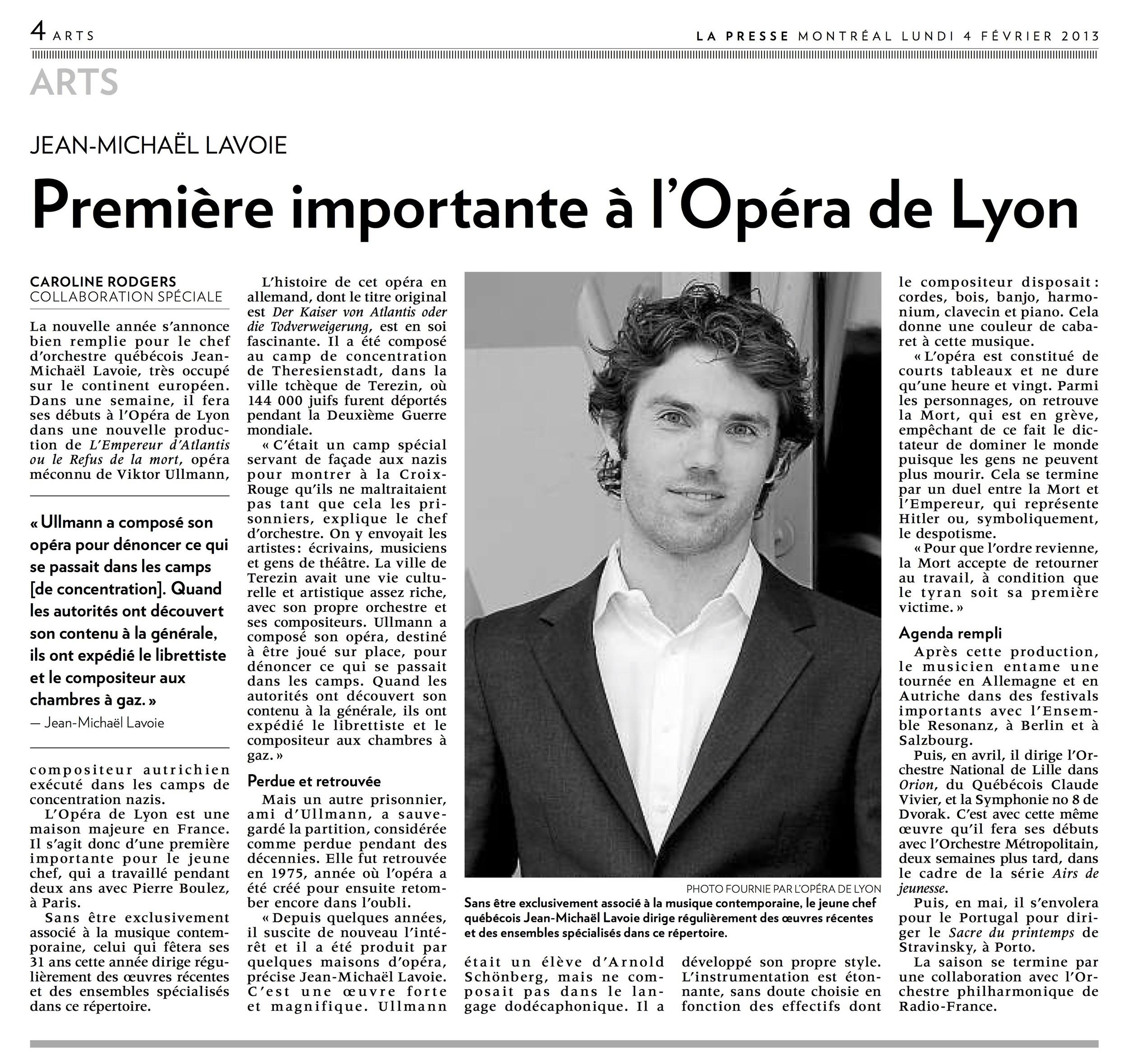 La Presse (2013)