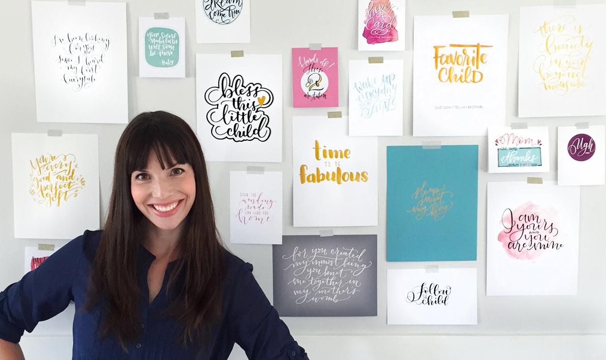 Amanda Arneill Say it Pretty Hand Lettering Designs