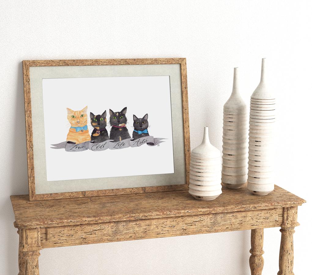 cat lover pet portraits