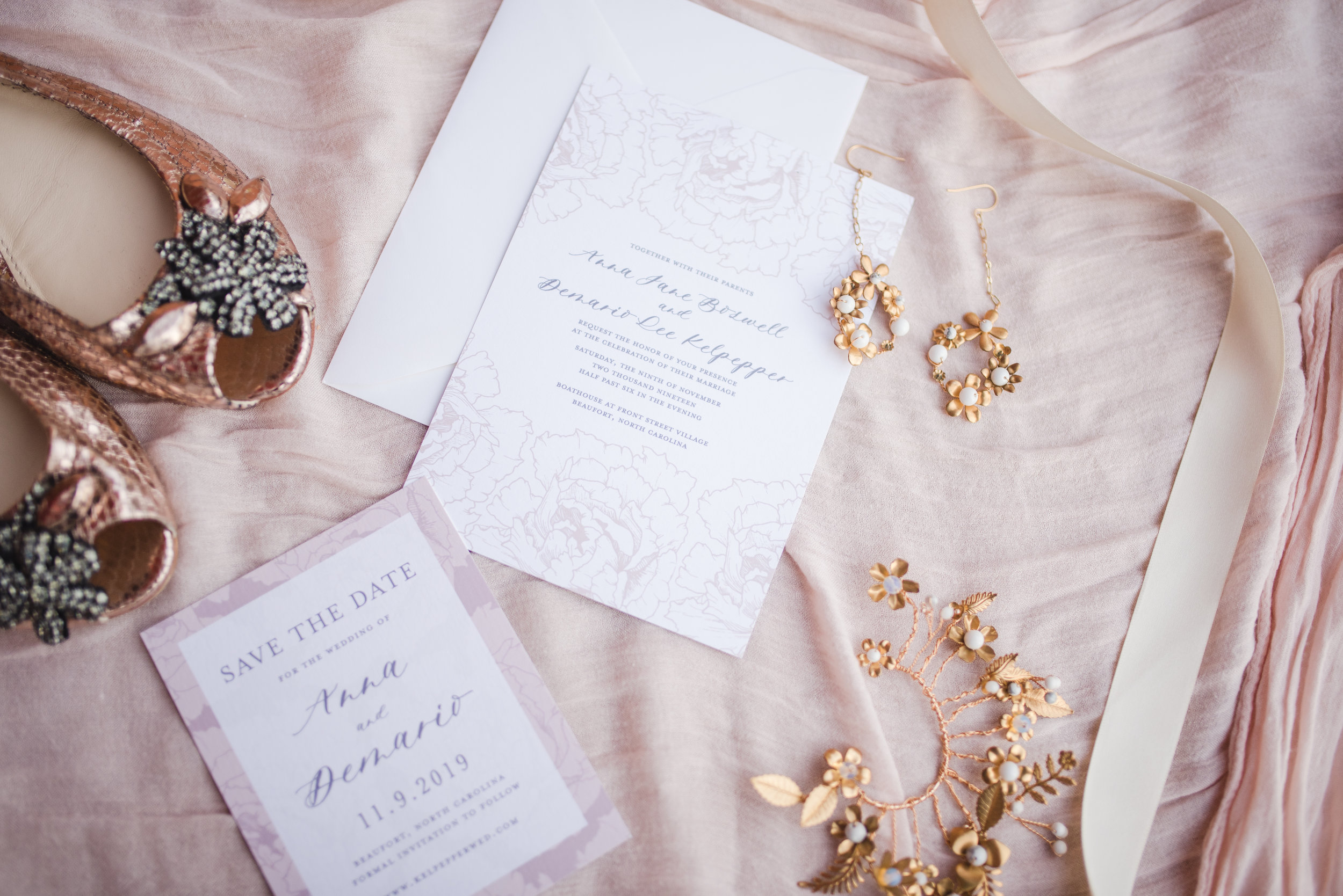 Anna Hand Drawn Wedding Invitation Pink Peonies Feathered Heart PrintsButterfly Garden (15 of 187).jpg