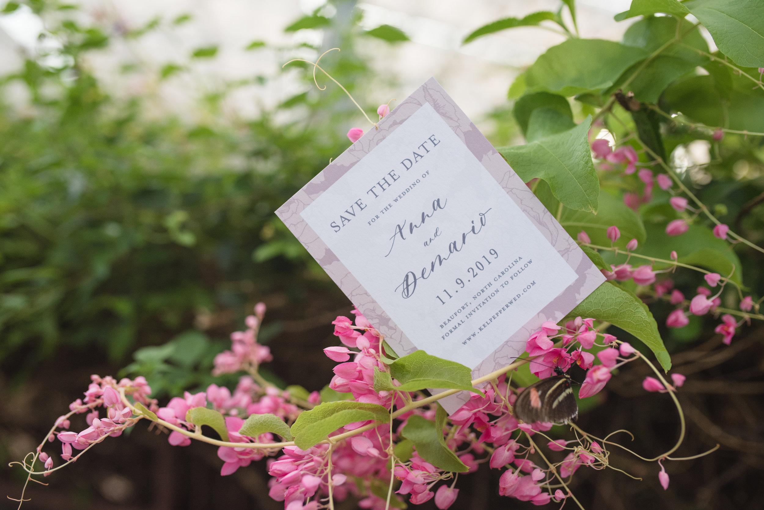 Anna Hand Drawn Wedding Invitation Pink Peonies Feathered Heart PrintsButterfly Garden (145 of 187).jpg