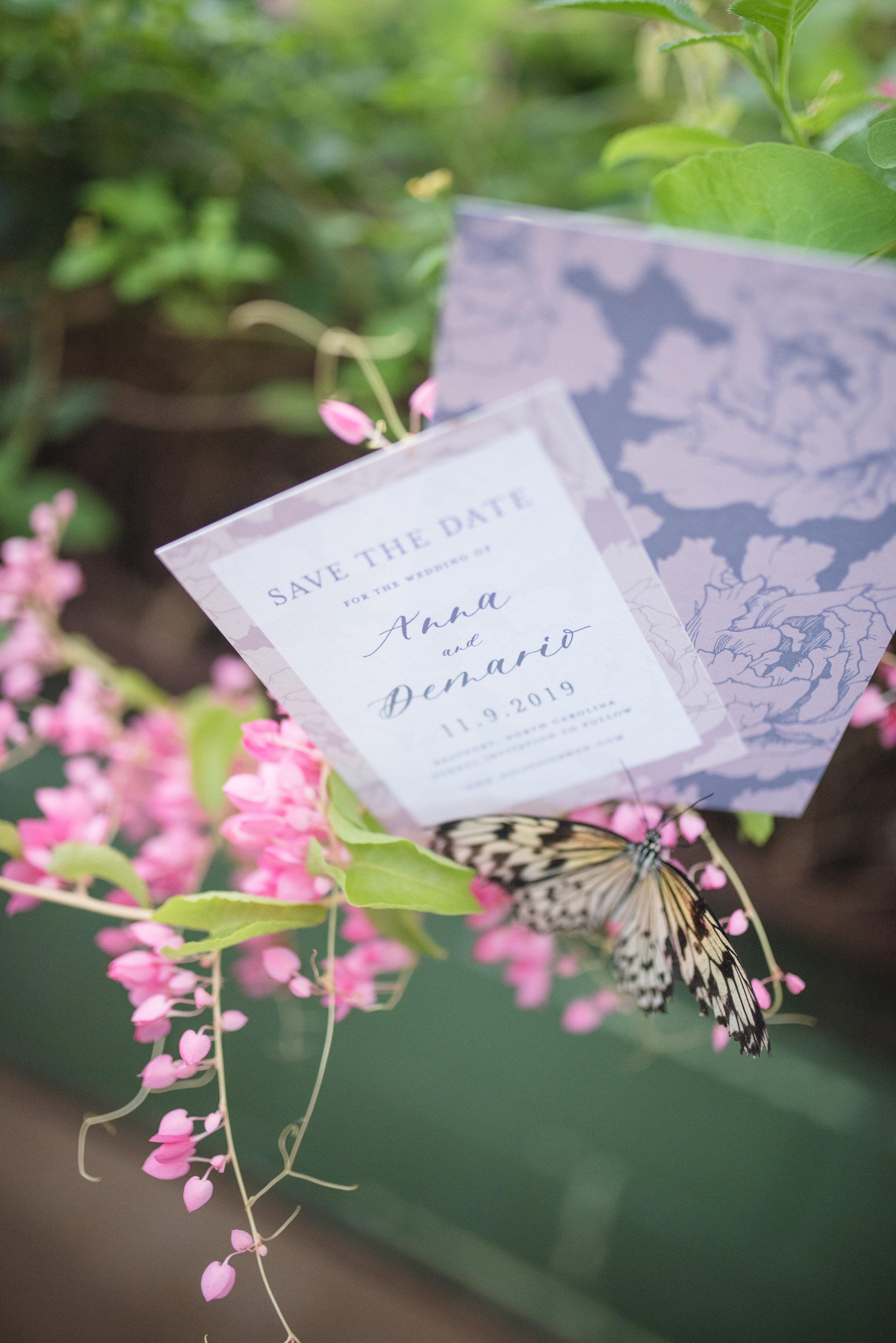 Anna Hand Drawn Wedding Invitation Pink Peonies Feathered Heart PrintsButterfly Garden (147 of 187).jpg