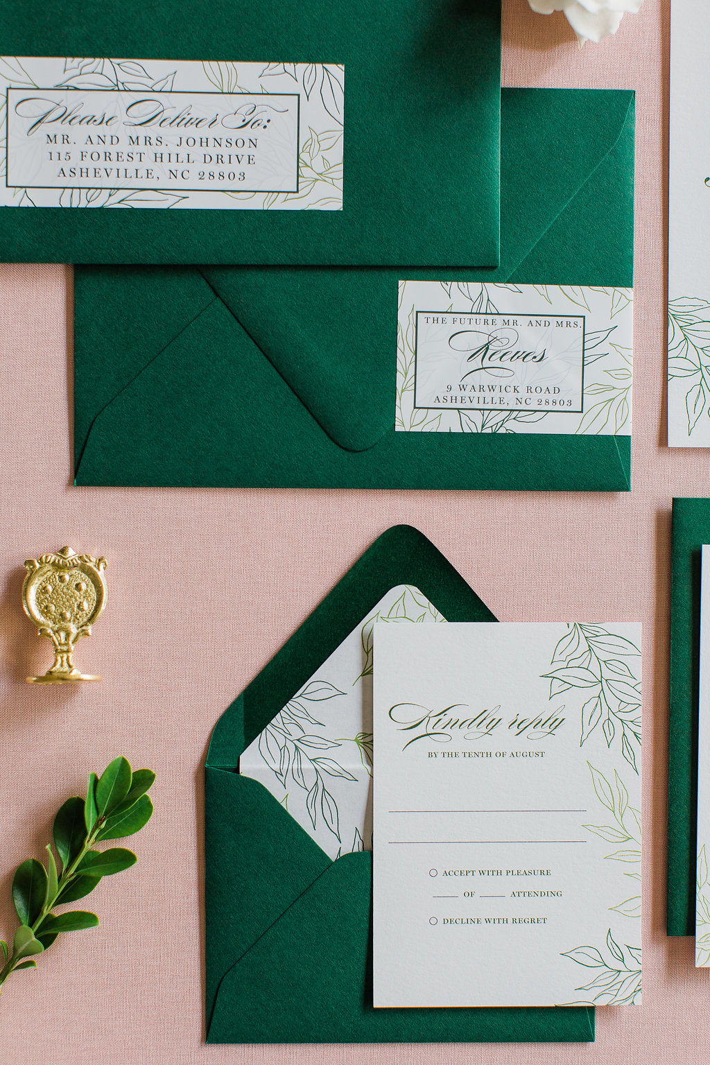 Heather Hand Drawn Wedding Invitation Greenery Feathered Heart PrintsFHP-28.jpg