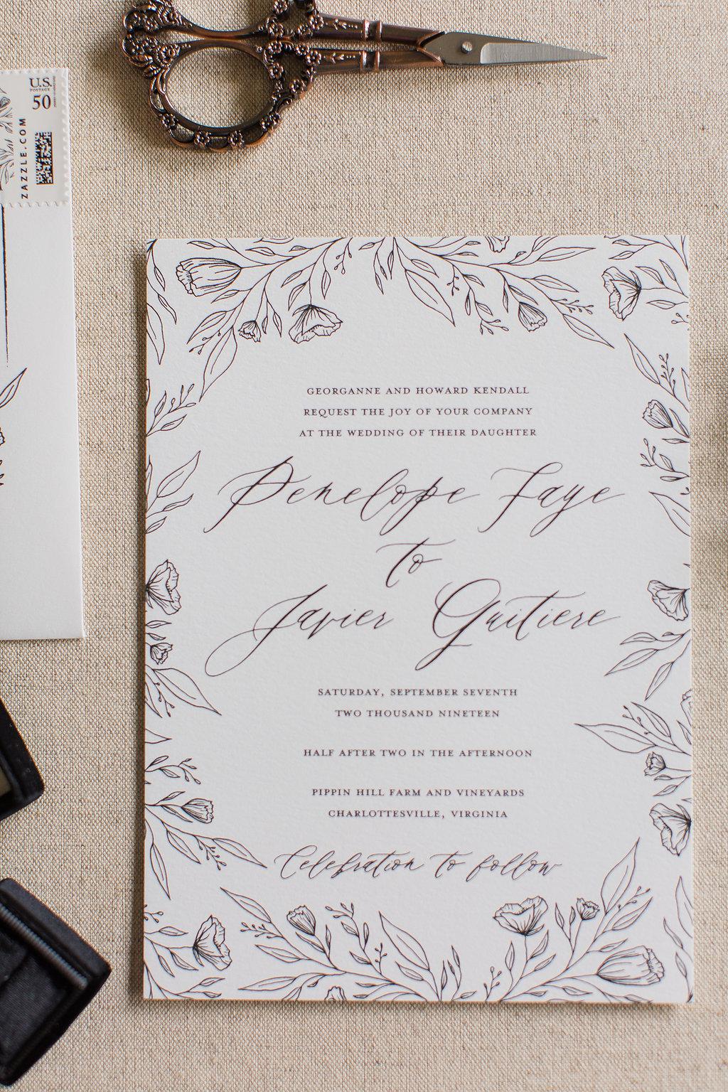 Penelope - Hand Drawn Floral Wedding Invitations -FHP-50.jpg