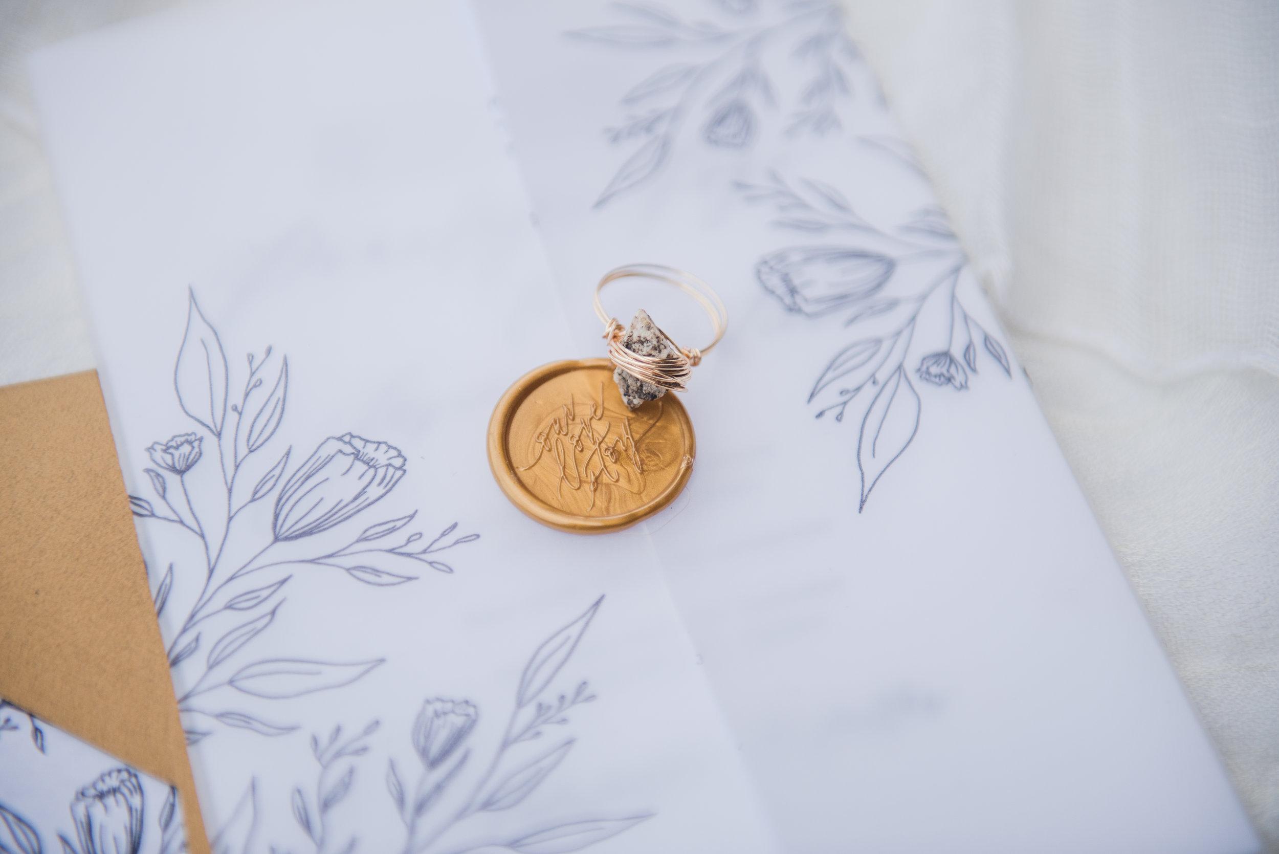 Penelope Hand Drawn Floral Wedding Invitation Feathered Heart PrintsKaeda & Michael (8 of 58).jpg