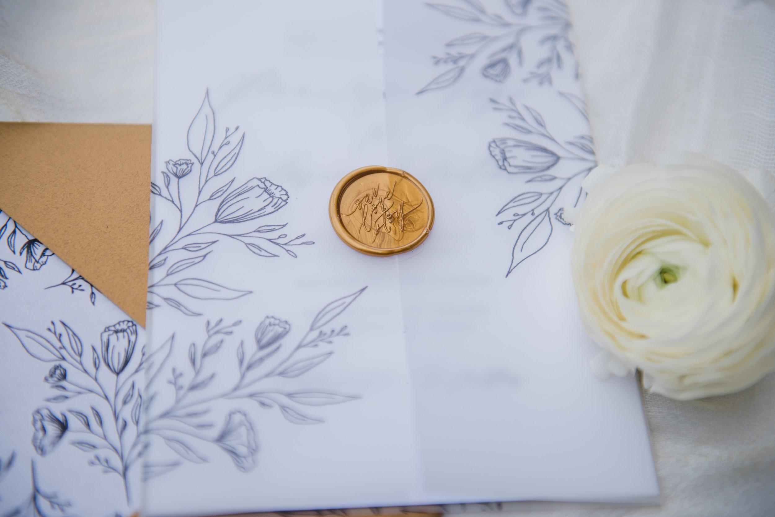 Penelope Hand Drawn Floral Wedding Invitation Feathered Heart PrintsKaeda & Michael (35 of 58).jpg