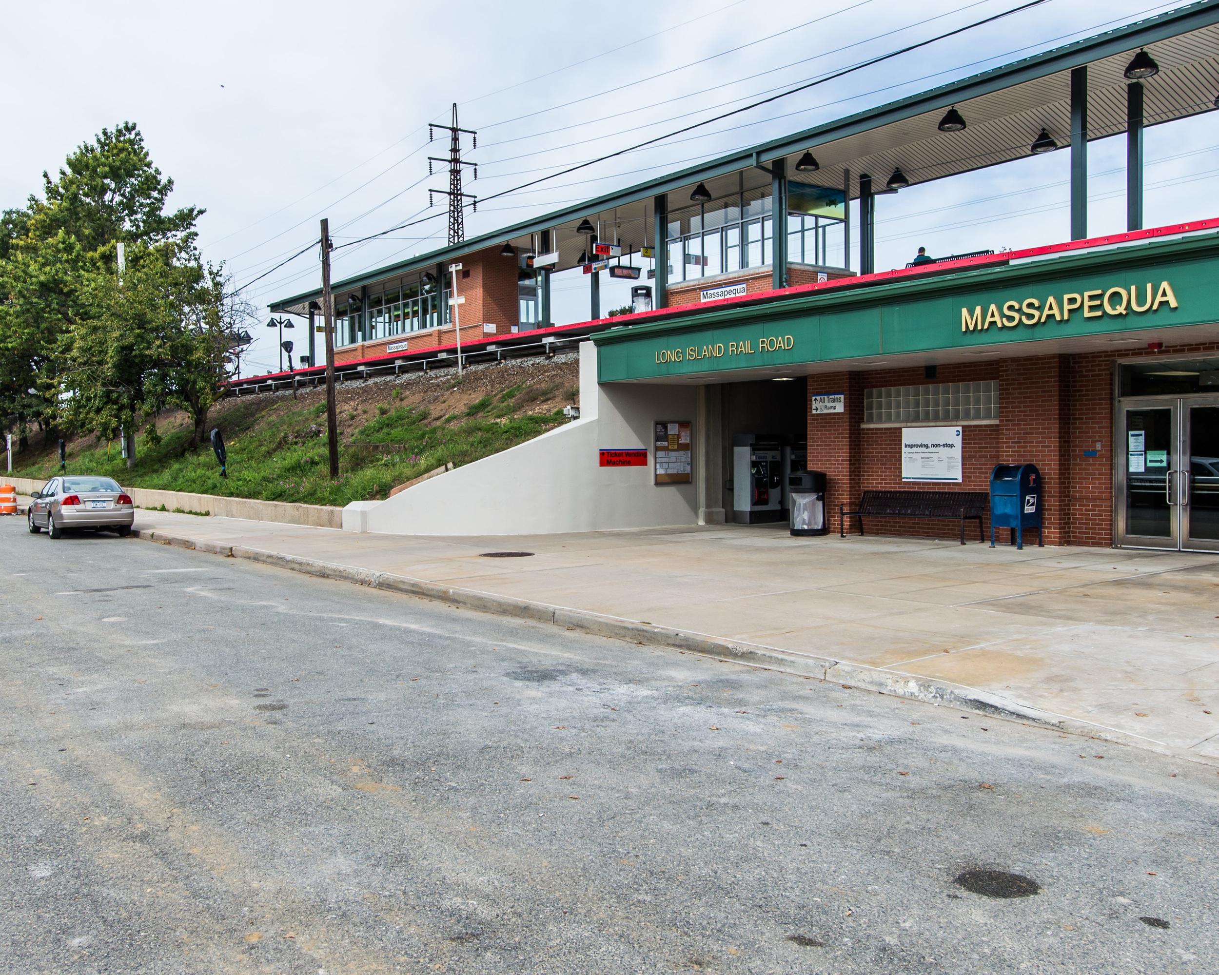 REHABILITATION OF MASSAPEQUA TRAIN STATION