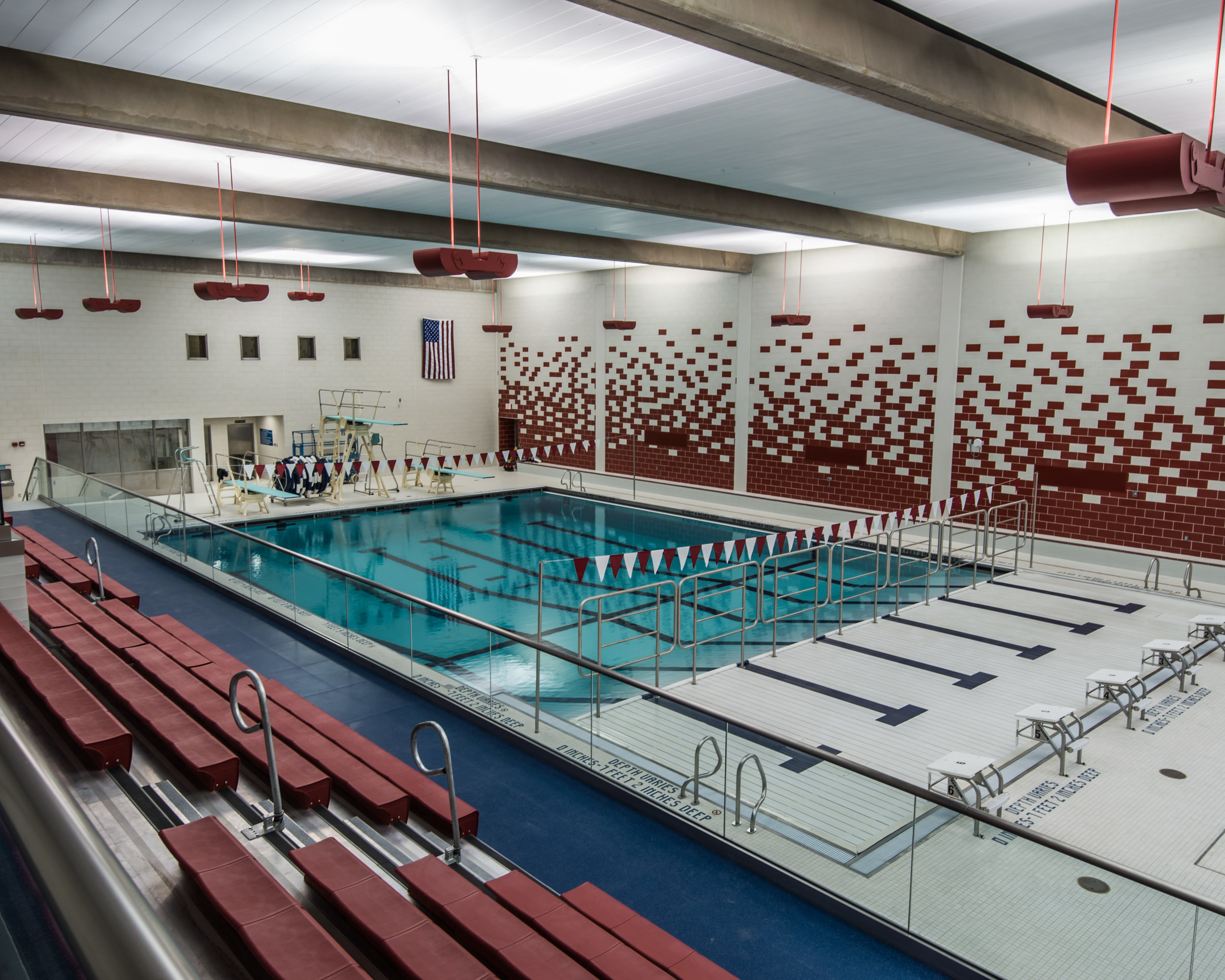 Substantial Completion has been reached at the Stony Brook University Aquatic Center. Once all inspections and testing is complete the students and community will be able to enjoy this state of the art facility and NCAA Division I competition will be able to take place. Click on the image for more information about this project.